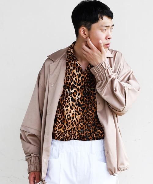 驚きの価格が実現! SUPERTHANKS スーパーサンクス COACH/ BIC COACH 2WAY JACKET JACKET/ ビッグシルエットセットアップコーチジャケット/ ST201JK002(ブルゾン)|SUPERTHANKS(スーパーサンクス)のファッション通販, カリワムラ:93fad55d --- 5613dcaibao.eu.org