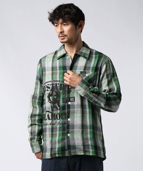 THRILLS AND DELIGHTS ワークシャツ