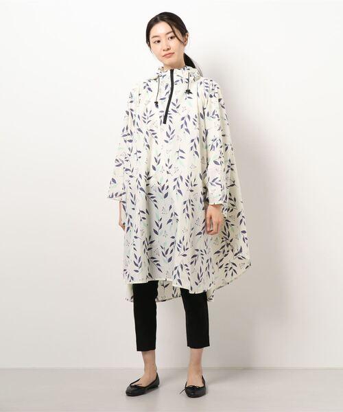 【 nifty colors / ニフティーカラーズ 】 rain poncho  6026/6032/6031/6034  NIC