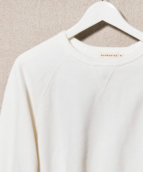 ラグラン スウェットシャツ|NUMBERTEE(ナンバーティー)