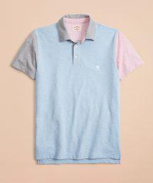 BROOKS BROTHERS(ブルックス ブラザーズ)のRed Fleece GF コットンピケ ファンポロシャツ(ポロシャツ)
