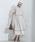 Emma Taylor(エマテイラー)の「【STYLEBAR】タックフレアシャツドレス(ワンピース)」|ベージュ