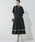 Emma Taylor(エマテイラー)の「【STYLEBAR】タックフレアシャツドレス(ワンピース)」|ブラック