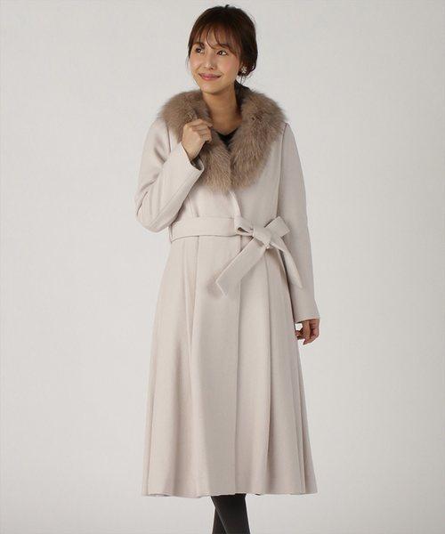 最安値 【美人百花コラボ】フォックスファー付きカーラコート(その他アウター) Swingle(スウィングル)のファッション通販, ミイグン:bd91ed3f --- blog.buypower.ng