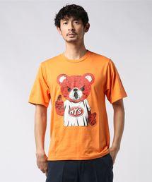 BEAR MASTER Tシャツオレンジ