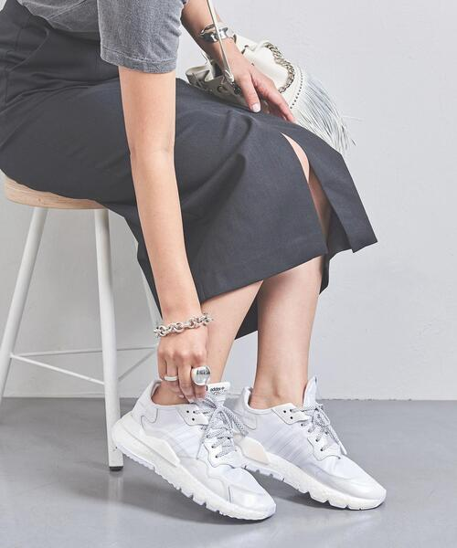 <adidas(アディダス)>NITE JOGGER W スニーカー