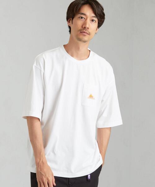 [ ケルティ ] SC ★ KELTY CORDURA ロゴ ポケット Tシャツ