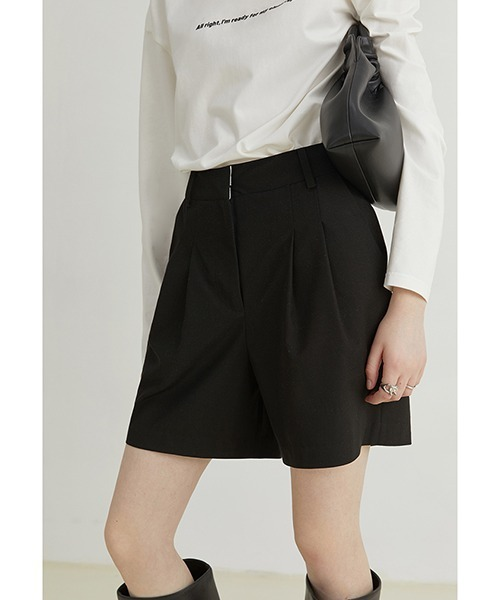 【Fano Studios】【2021AW】Straight suit shorts FQ21K006