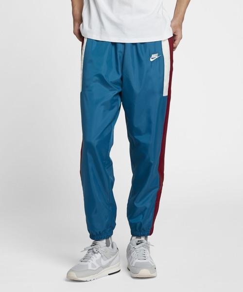 NIKE(ナイキ)の「ナイキ スポーツウェア メンズ ウーブン パンツ / NIKE《セットアップ対応商品》(パンツ)」 ブルー