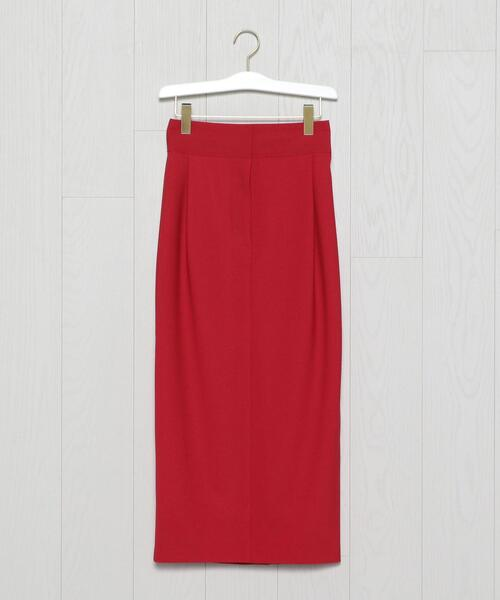 <H>HIGH WAIST TIGHT LONG SKIRT/スカート
