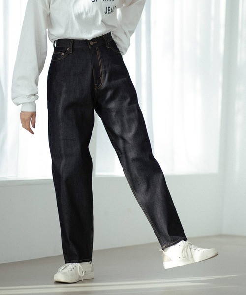 [niko and ...JEANS 2021SS]NEWテーパードアンクルデニム