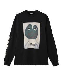 WEIRDO FROG Tシャツブラック
