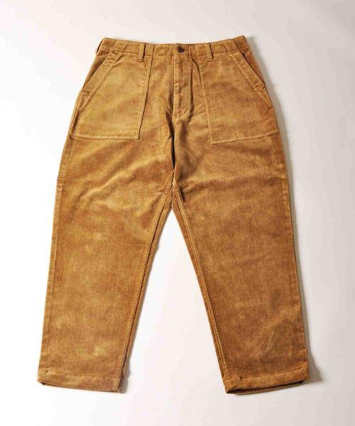 【お買い得!】 スラントコーデュロイベーカーパンツ(パンツ)|Johnbull JOHNBULL Private Private labo(ジョンブルプライベートラボ)のファッション通販, カーパーツ アクセス:2791f5e1 --- ruspast.com