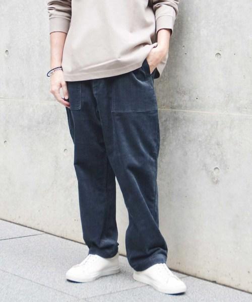 ラウンド  スラントコーデュロイベーカーパンツ(パンツ) Johnbull MEN,ジョンブル JOHNBULL Private Private labo(ジョンブルプライベートラボ)のファッション通販, こだわりパンダ:57d56349 --- ruspast.com