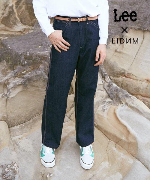 LEE/리 × LIDNM/re 돔 특별주문 상품페인《다데니무판츠》