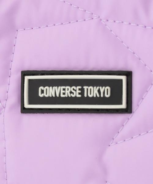 CONVERSE TOKYO(コンバーストウキョウ)の「ナイロンスターキルトバケット(ショルダーバッグ)」|詳細画像