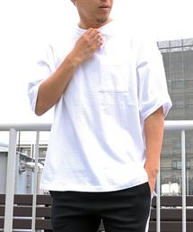 VENCEEXCHANGE(ヴァンスエクスチェンジ)のUSAコットンビッグTシャツ(Tシャツ/カットソー)