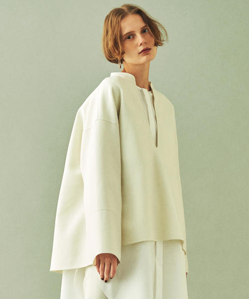 【公式】 ウールダブルフェイス キーネックプルオーバー(シャツ/ブラウス)|DES PRES(デ DES・プレ)のファッション通販, ライフシステム:dabc819f --- svarogday.com