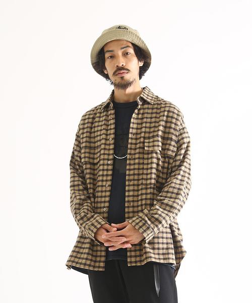 【爆売り!】 marka/ - マーカ:FLAP POCKET SHIRTS - POCKET cotton/ viyella check -:M19D-07SH01C[COR](シャツ/ブラウス)|marka(マーカ)のファッション通販, 東京電気:d747b424 --- tsuburaya.azurewebsites.net