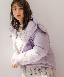Andemiu(アンデミュウ)のカラーショートダウン854818(ダウンジャケット/コート)