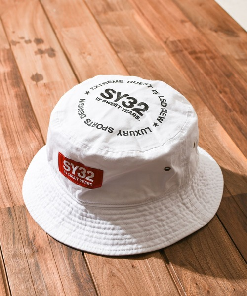 『SY32 by SWEET YEARS』』GRAPHIC BUCKET HAT