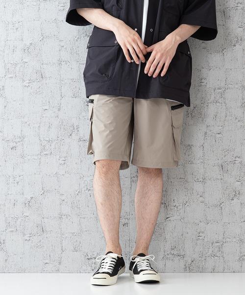 「着るBAG」シリーズ 7ポケット ショートパンツ 吸水速乾素材/ストレッチ機能付き