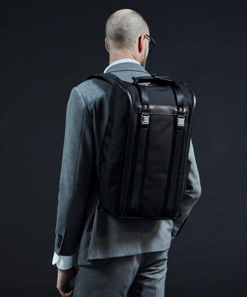 beruf baggage(ベルーフバゲッジ)の「【beruf baggage / ベルーフバゲージ】URBAN COMMUTER BACKPACK HD アーバンコミューター バックパック(バックパック/リュック)」|ブラック