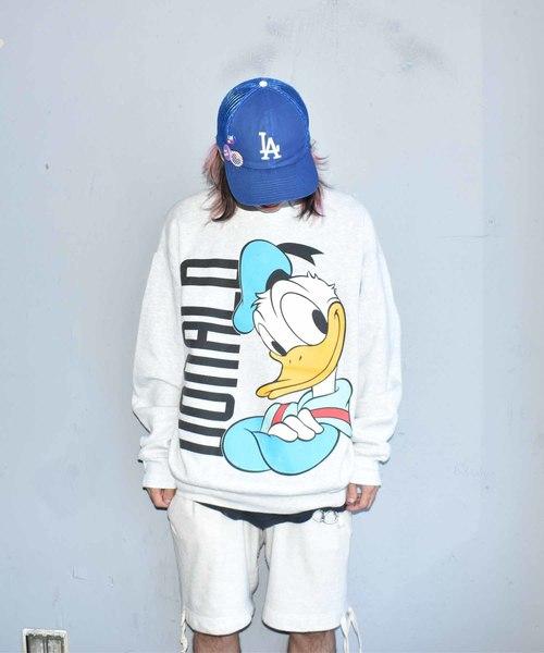 ヴィンテージ古着 90s スウェット Disney Duck Donald Duck クルー