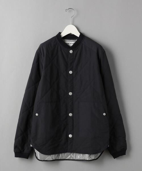 <NATIC (ナティック) > QUILTING JKT Navy/アウター