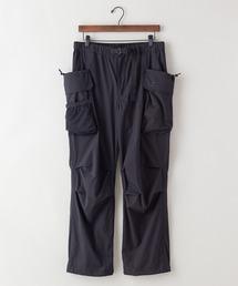 「着るBAG」シリーズ  7ポケットカーゴパンツ 撥水/ストレッチ機能付きブラック