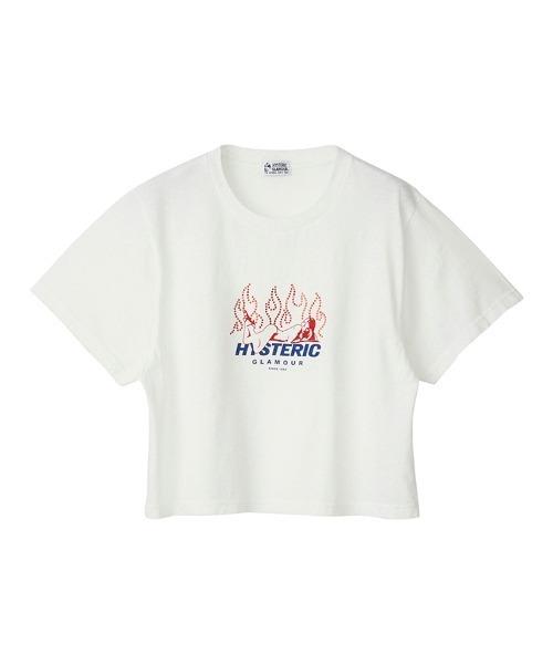 FIRE ショートTシャツ