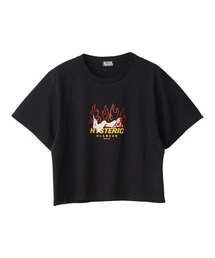 FIRE ショートTシャツブラック