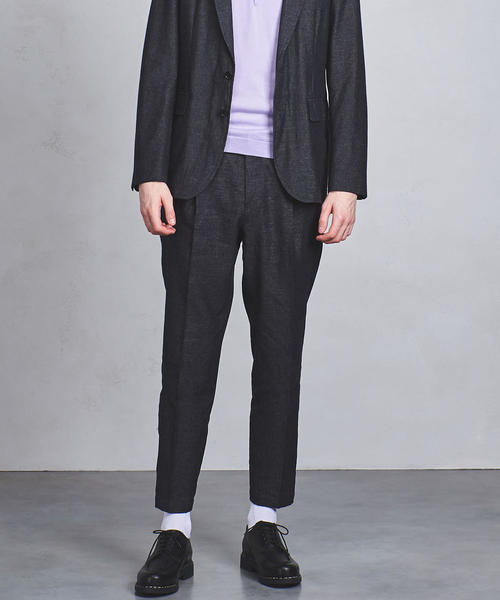 <District UNITED ARROWS(ディストリクト ユナイテッドアローズ)> W LAME 9 1PL ◆