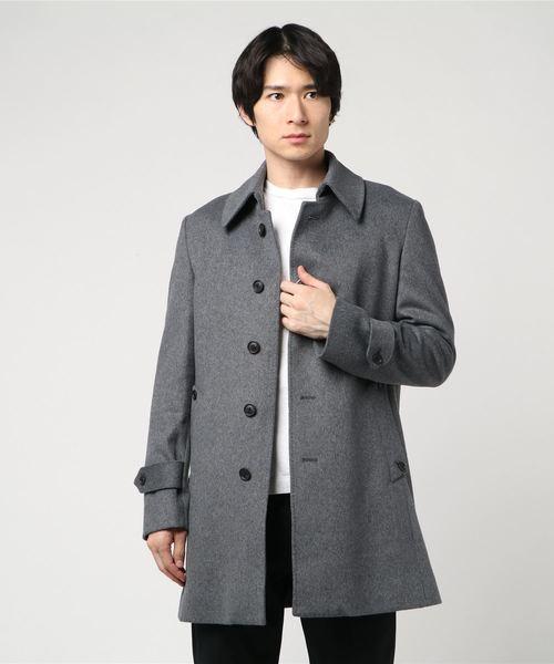 最適な材料 【セール】NOBILA ステンカラーコート Suit Lグレー(ステンカラーコート)|TRANS CONTINENTS(トランスコンチネンツ)のファッション通販, ヒチソウチョウ:e0a145ff --- dpu.kalbarprov.go.id