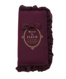 Maison de FLEUR(メゾンドフルール)のブランドロゴフリルiPhone7/8ケース(モバイルケース/カバー)