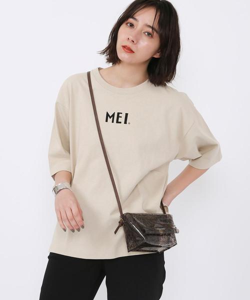 【WEB限定カラー】MEI(メイ)別注ワンポイントTシャツ#