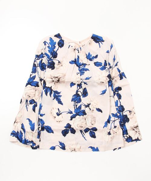 【LOVER】WATERCOLOUR SWAY TOP