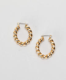 <LAURA LOMBARDI>CARA HOOP EARRINGS/ピアス