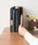 東京家具(トウキョウカグ)の「ブックスタンド 3連 [木製小物](収納グッズ)」|ダークウッド