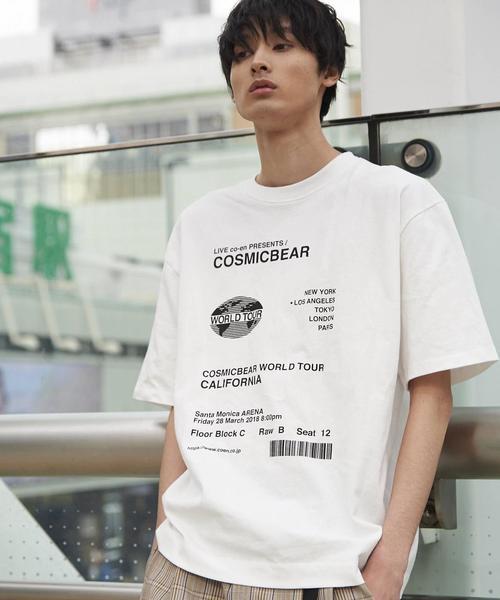 【FINEBOYS6月号掲載】ビッグシルエットプリントTシャツ3(UTILITY LINE)