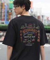 ビッグシルエットプリントTシャツ3(UTILITY LINE)