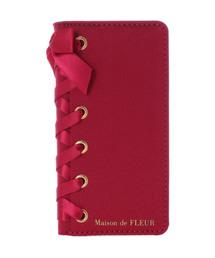 Maison de FLEUR(メゾンドフルール)のブランドロゴレースアップiPhone7/8ケース(モバイルケース/カバー)