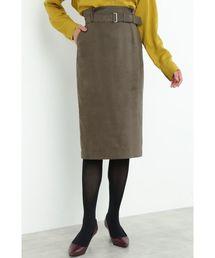 BOSCH(ボッシュ)のフェイクスエードタイトスカート(スカート)