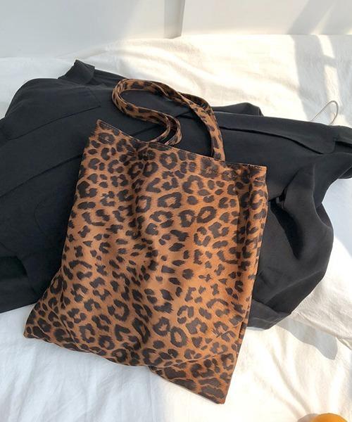 【chuclla】Leopard print  tote bag cha187