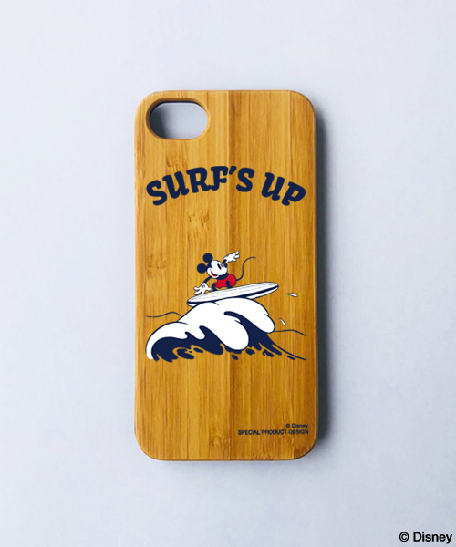 Disney(ディズニー)【SURF MICKEY】 iPhone8 CASE BAMBOO / SURF'S ...