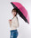 おしゃれスタ(オシャレスタ)の「【INXU TOKYO】折り畳み傘(折りたたみ傘)」|ピンク系その他