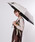 おしゃれスタ(オシャレスタ)の「【INXU TOKYO】折り畳み傘(折りたたみ傘)」|ホワイト