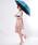 おしゃれスタ(オシャレスタ)の「【INXU TOKYO】折り畳み傘(折りたたみ傘)」|ブルー