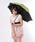 おしゃれスタ(オシャレスタ)の「【INXU TOKYO】折り畳み傘(折りたたみ傘)」|グリーン