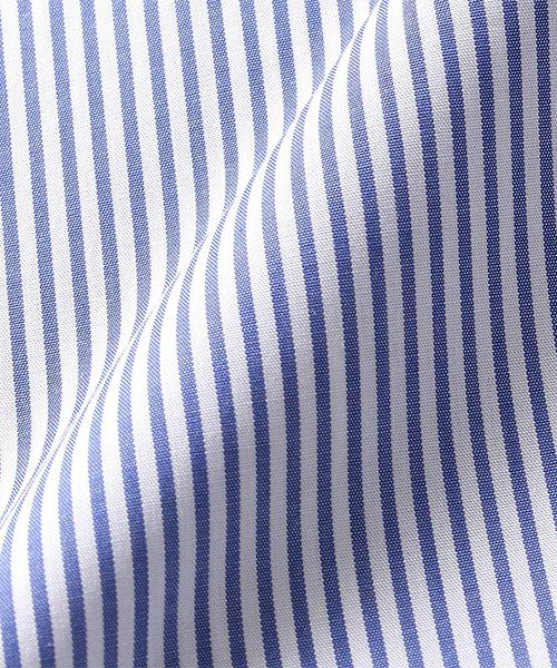 【洗える】イージーケア ロンドンストライプ 長袖シャツ(100~130cmサイズ)